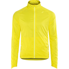 SQUARE Performance Chaqueta Cortavientos Hombre, flash yellow
